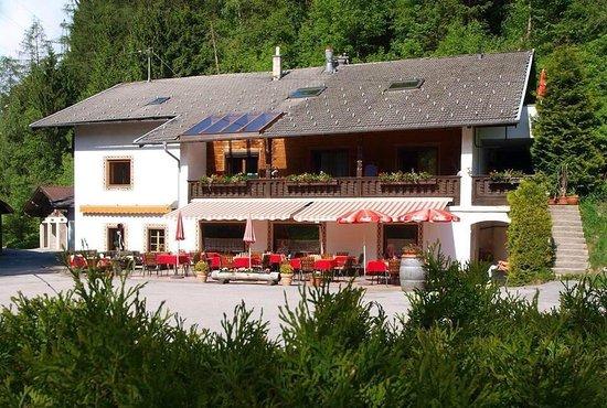 Mieders, Østrig: Restaurant Kirchbrucke