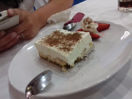 Restaurant Tropicana: Dessert