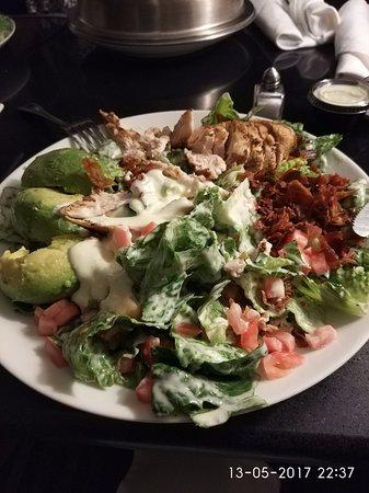 Piscataway, Nueva Jersey: Room service meal - huge and very tasty