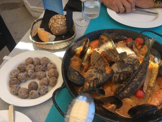 Guimar, Spanien: Exquisite lunch