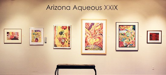 Tubac Center of the Arts: One of many nationally juried art exhibitions.
