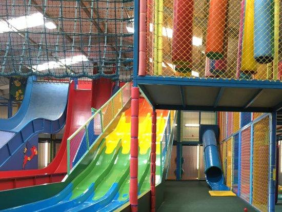 Hayle, UK: Fantastic indoor play area