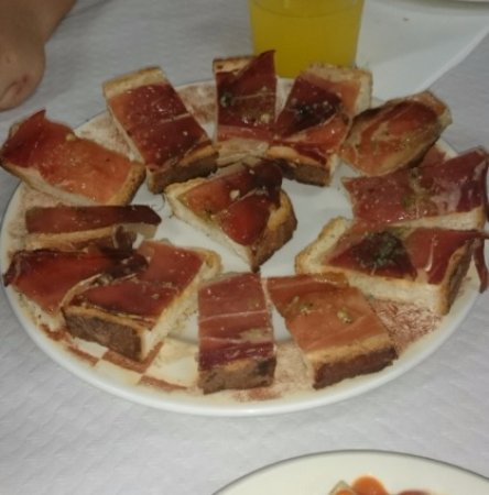 Tarazona, Spanien: Suela de jamón