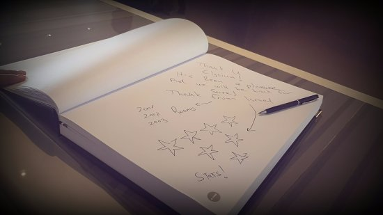 Hotel Guest Book Picture Of Elysium Resort Spa Kallithea