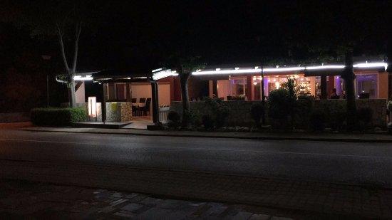 Duran, Croacia: Restorant exterior
