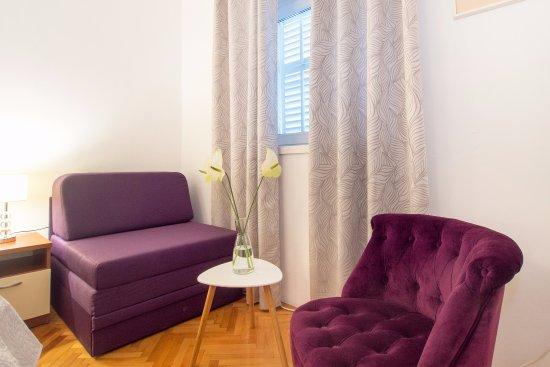 Podstrana, Kroatia: Family apartment without balkony
