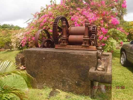 Saint David Parish, Grenada: cane crusher