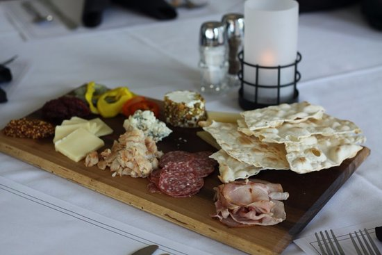 Pewaukee, WI: Meat and Cheese Board