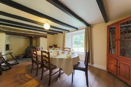 Grampound, UK: Dining room