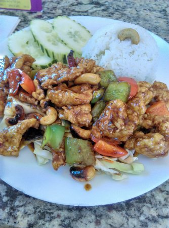Cashew chicken picture of katai autentica cocina for Autentica mexican cuisine