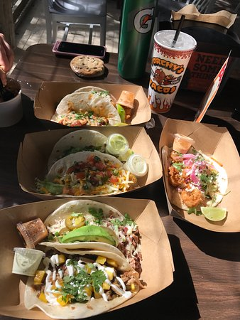 Torchy's Tacos - Trailer Park: Our Meal!