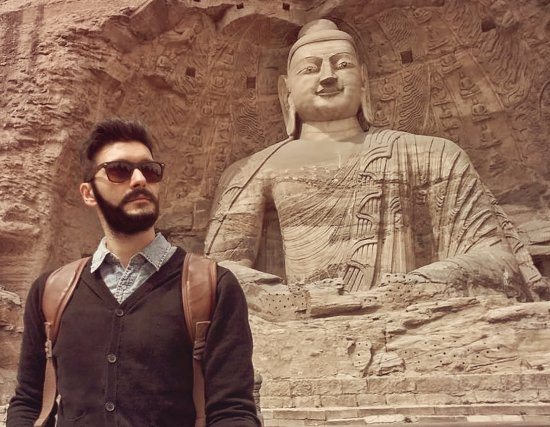 Datong, China: Buddha statue