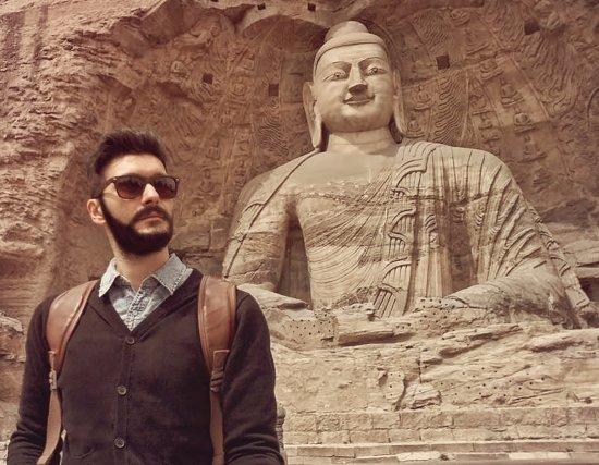 Datong, Kina: Buddha statue