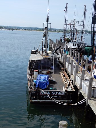 Galilee: Boat directly below the Wheel House deck