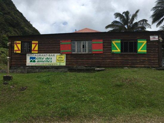 Petit-Bourg, Guadeloupe: Vue du parking