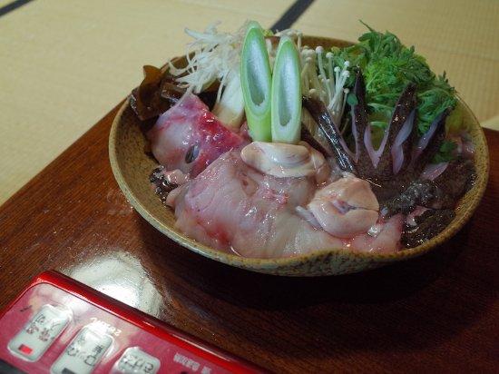 Echizen-cho, Jepang: 朝からアンコウ鍋!!