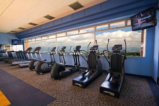 Hotel Las Americas: Gym Panoramico