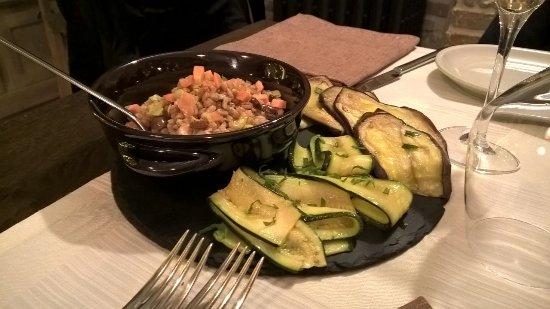 Terrae Madre: Farro e verdure! Una vera bontà.