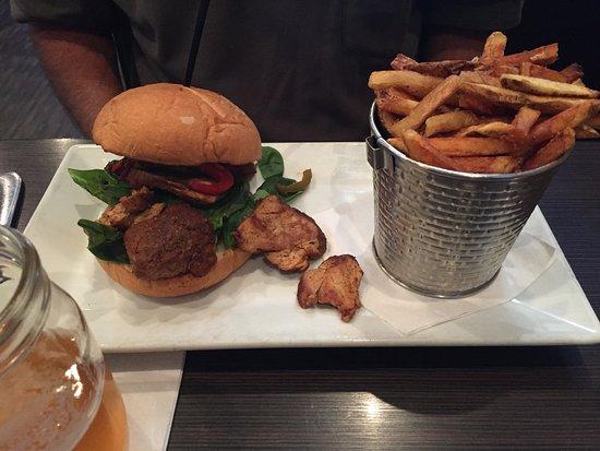 Cedar Falls, IA: Pork Tenderloin and fries