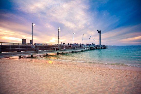 Tangalooma, Australia: Jetty