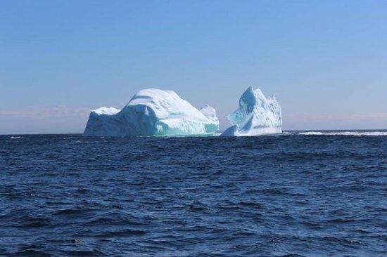 Quirpon Island, Canada : Ice Berg at Quirpon...