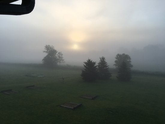 Whalan, MN: Sunrise thru the fog