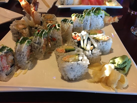 Glen Burnie, MD: Just love Yama Sushi!  Food is delicious and presentation is beautiful.  Great service and nice