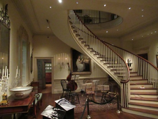 Winterthur, DE: Staircase in the DuPont mansion