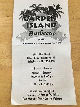 Garden Island BBQ & Chinese Restaurant: photo1.jpg