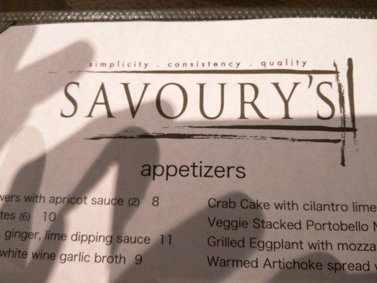 Savoury's