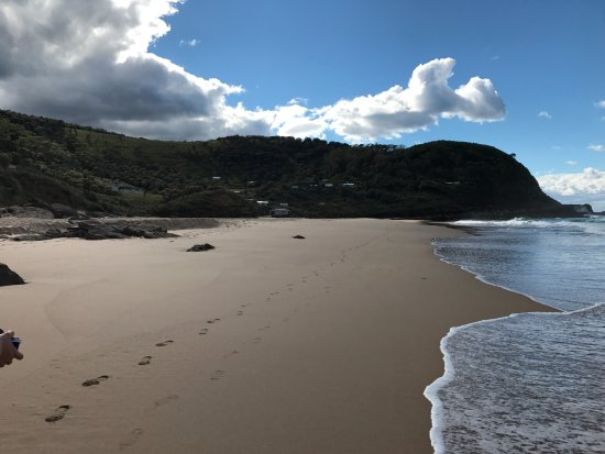 Royal National Park, Austrália: The beach before the rocks