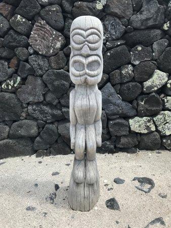 Honaunau, Hawái: Hawaiian Tiki