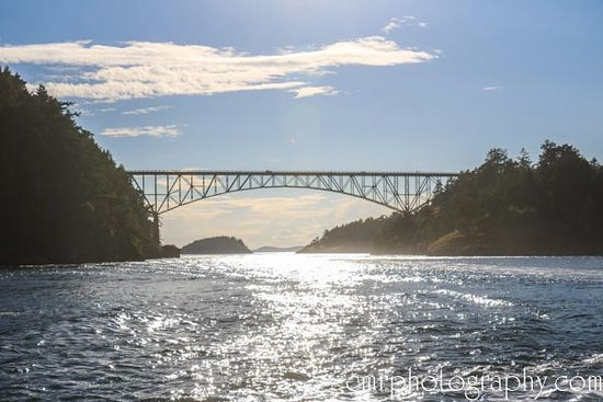 Oak Harbor, Etat de Washington : Deception Pass Bridge
