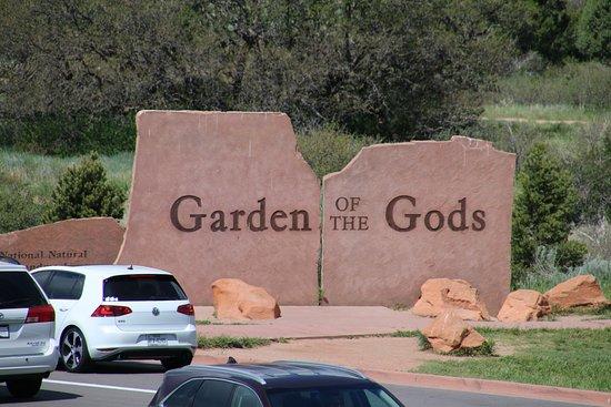 Sign Picture Of Garden Of The Gods Colorado Springs Tripadvisor