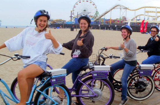 Santa Monica and Venice Electric Bike...