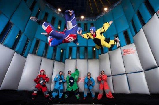 Indoor skydiven in Las Vegas