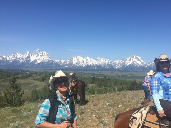 Moose Head Ranch: Riding horse