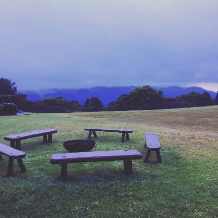 Dorrigo, Australia: Fire Pit with a view