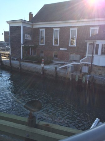 Woods Hole Drawbridge: A look at the channel
