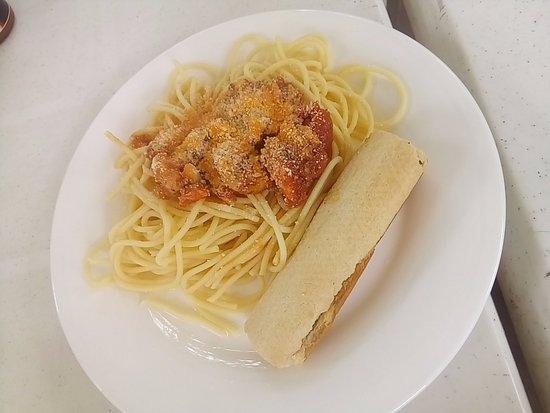 Pizza Volante Shrimp Pasta