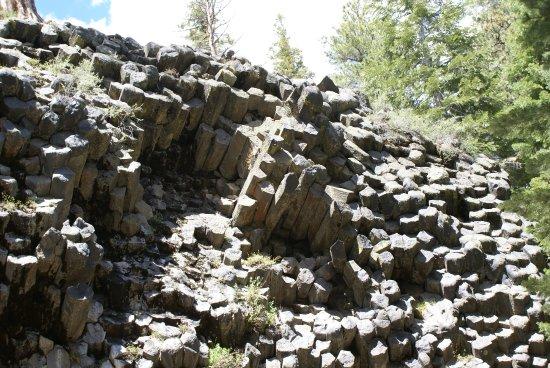 Devils Postpile National Monument: Basaltpflöcke