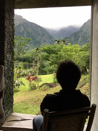 Wumum B&B: View from veranda