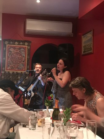 Wonderful place to have a party!  Great food, space for a small band and great food, lovely happ