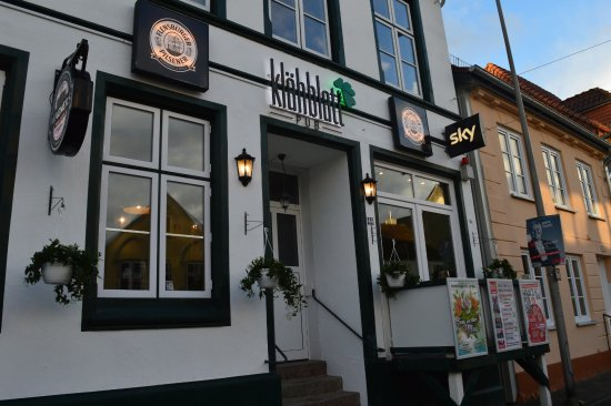 Unser Klähblatt Pub in Schleswig