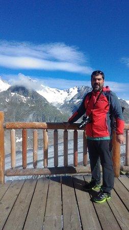 Aletsch Glacier: Straordinario posto .