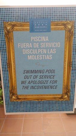 Hotel Estela Barcelona - Hotel del Arte: ohne Deklaration bei der Buchung geschlossen