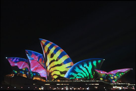 Milsons Point, Αυστραλία: Sydney VIVID Festival