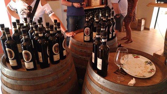 Castagnole Monferrato, Italy: Degustazione finale