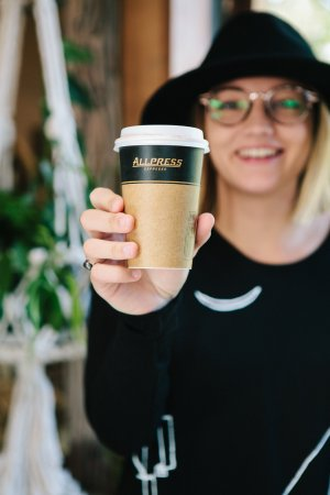 Waihi Beach, Nieuw-Zeeland: We sell a variety of Allpress coffees, hot chocolates, smoothies and cold press juices.