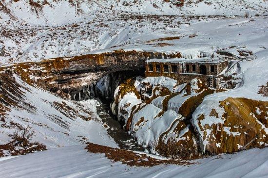 Las Cuevas, Argentina: .... a 2750 mts. sobre el nivel del mar